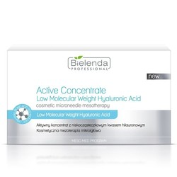 BIELENDA active concentrate with a low molecular weight hyaluron