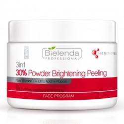 BIELENDA 3w1 30% Powder peeling cleared 100g