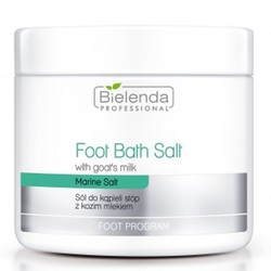 BIELENDA salt foot bath with goat milk 600g